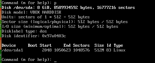 fdisk wrong partition type