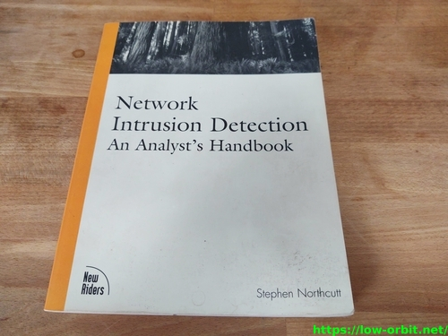 network intrusion detection an analysts handbook front