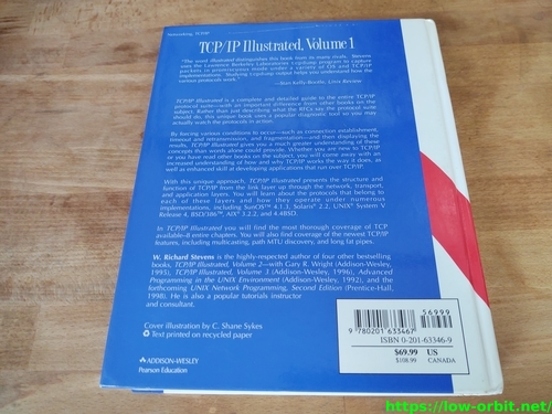 tcp ip illustrated volume 1 the protocols back1