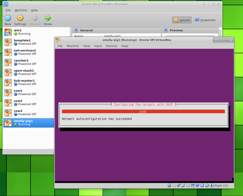 Ubuntu Server in VirtualBox configuring network