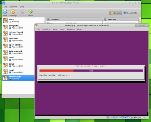 Ubuntu Server in VirtualBox finishing installation